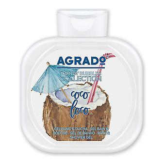 Shower Gel Trendy Bubbles Collection Agrado Coconut (750 ml)