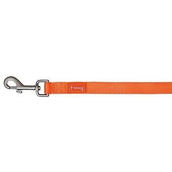 Freedog hoitaa Nylon Väri Neon oranssi Fluor koirille