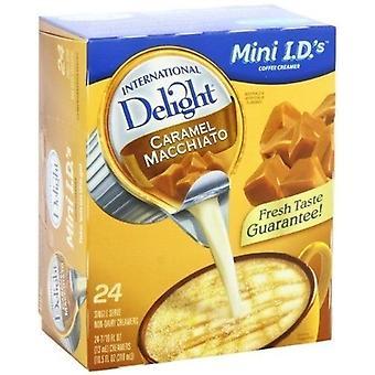 Nemzetközi Delight Carmel macchiato Kávé Creamer Singles