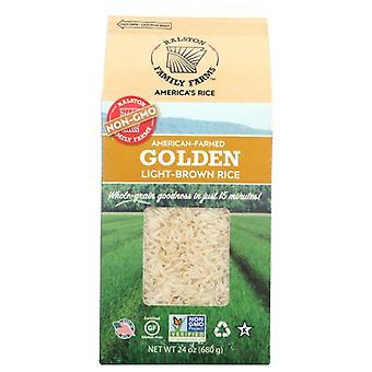 Ralston Family Farms Rice Golden, Case of 6 X 24 Oz