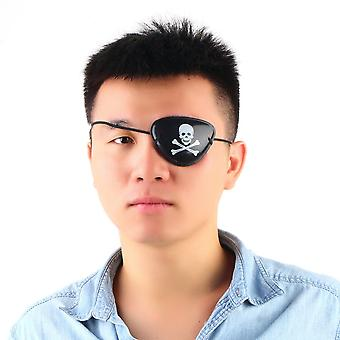 Pirate Eye Patch Skull Crossbone Halloween Party Favor Bag Costume Kids Toy