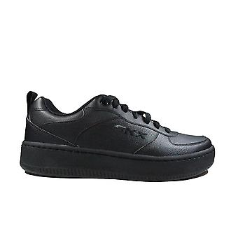 Skechers Sport Court 92 237188 Black Leather Mens Casual Trainers
