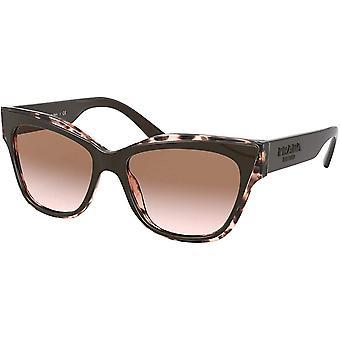Prada PR 23XS Brown/Light Brown Shaded 53/16/140 Womens Sunglasses