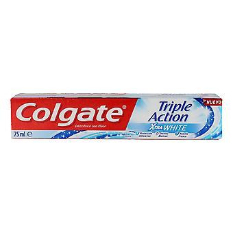 Triple Action Toothpaste Colgate Triple Action Xtra White (75 ml)
