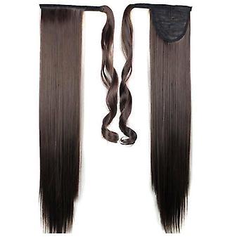 (60cm4#) Doamnelor femeii Clip In ca Hair Extension Pony Coada Wrap Around Wrap Pe Ponytail