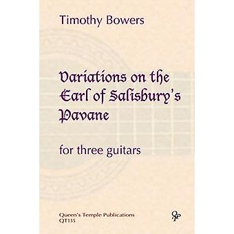 Bowers: Variations on the Earl of Salisbury's Pavane GUITAR TRIO