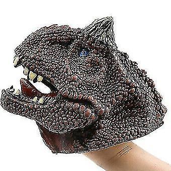 Dinosaurus käsinukke käsineet, pehmeä dinosaurus malli lelu lapsille(S6)