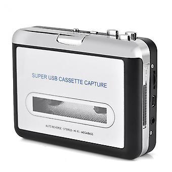 Usb-кассетный проигрыватель, ленточный на ПК, супер портативный USB-кассета в mp3