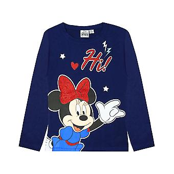 Minnie Mouse Girls Hi Glitter T-Shirt
