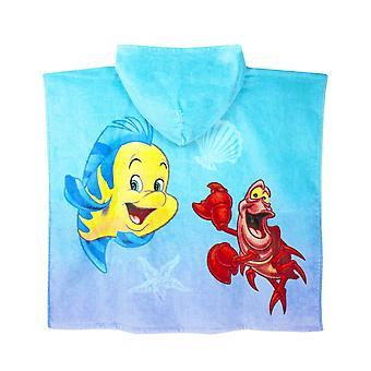 Die little Mermaid Girls Badeanzug und Poncho Set