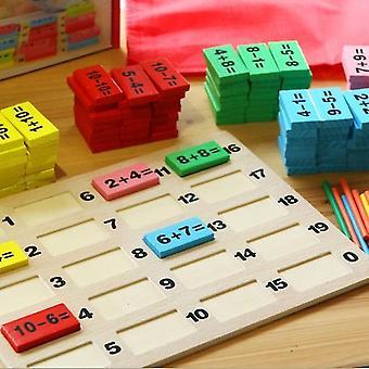 Childhood Education Digital Operation Building Intellectual Building Blocks