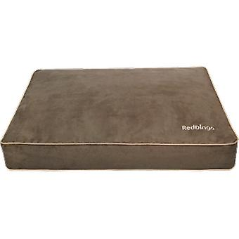 Red Dingo Brown Special Rectangle Cushion for Dogs (Dogs , Bedding , Beds)