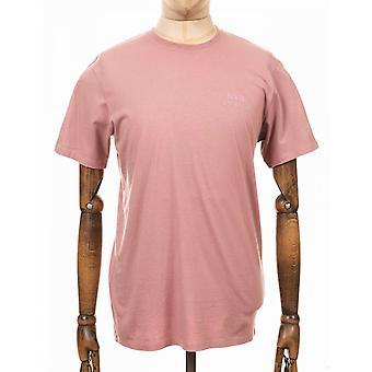 Edwin Jeans Chest Logo Tee - Woodrose