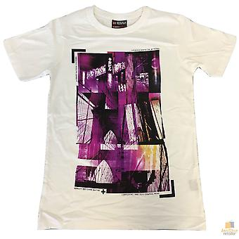 100% Cotton t-shirt with print design slim fit basic tee top xs-xxl new