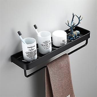 Hammasharjatelineet alumiini musta kylpyhuone hylly kylpyhuone suihku kori hyllyt kylpyhuone hylly seinä keittiö