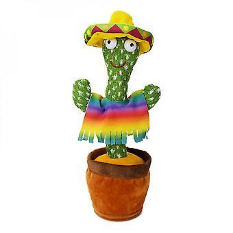 Talande kaktusleksak dansande kaktus