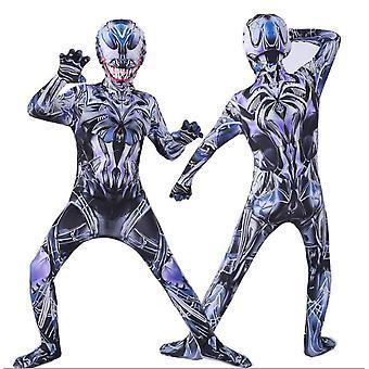 Enfants Garçons Spiderman Fancy Dress Party Jumpsuit Cosplay Costume Halloween