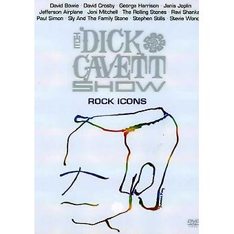 Dick Cavett Show: Rock Icons [DVD] USA import