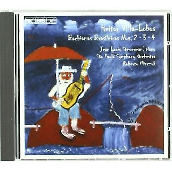 H. Villa-Lobos-Heitor Villa-Lobos: Bachianas Brasileiras Nos. 2,3,4 importation USA [CD]