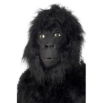 Gorilla Maska opice Gorilla král Konga maska kostým latex