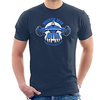 Mighty Blue Gym The Tick Men's T-Shirt