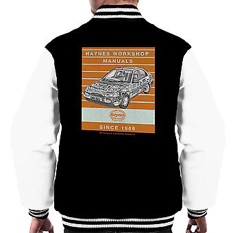 Haynes Workshop Manual 1923 Ford Mondeo Stripe Men's Varsity Jacket