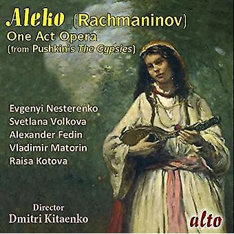 Nesterenko, Evgeni / Fedin, Alesander / Ussr TV - Rachmaninoff: importer Aleko (opéra complet) [CD] é.-u.