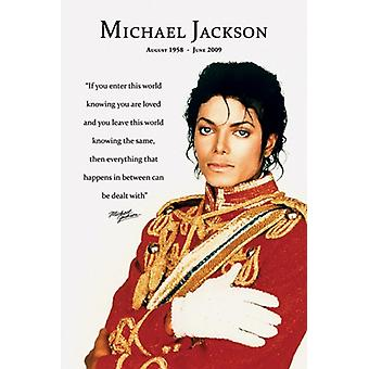 Michael Jackson - amato Poster Poster Print