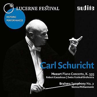 Carl Schuricht - Brahms / Mozart: Lucerne Festival Historic Performances Vol X1 [CD] USA import