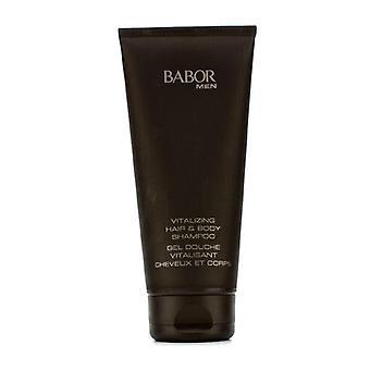 بابور تنشيط الشعر والجسم شامبو-200 مل/6.75 أوقية