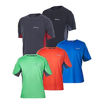 Berghaus Mens Tech Tee Short Sleeve Crew Neck Base T-Shirt