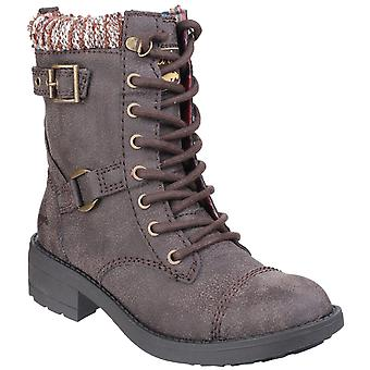 Rocket Dog Womens Thunder Biker Boot Brown Galaxy