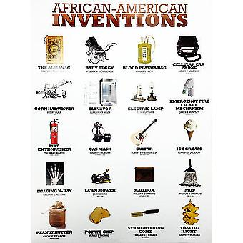 African American Inventors Poster (white) (18x24)