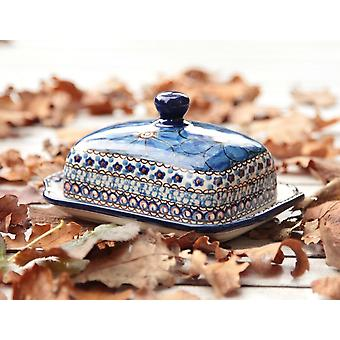 Painted butter dish, 250 g, unique 4 - different - BSN 2711