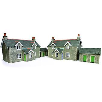 Metcalfe modeller Po255 arbejdstagere Cottages