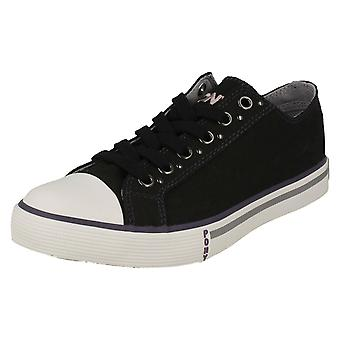 Ladies Pony Casual Trainers 'Shooter Lo'