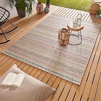 Conception Outdoorteppich Web tapis tissage plat | Or rose pin