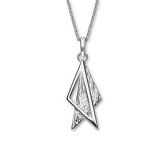 Sterling Silver Traditional Scottish Simply Stylish Textured Hand Crafted Necklace Pendant - P939