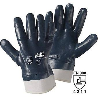 L+D worky Cross Nitril 1452C Cotton, Nitrile butadiene rubber Protective glove EN 388 CAT II 1 pc(s)