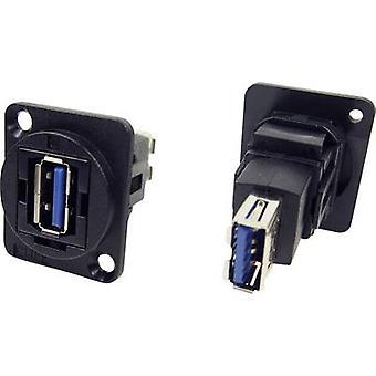 מתאם XLR USB 3.0 שקע ב-USB 3.0 מתאם שקע, מובנה CP30205N צוק תוכן: 1 pc (עם)