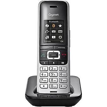 دكت HX S850 جيجاسيت الهاتف البلاتين، أسود