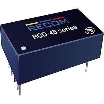 Recom Lighting RCD-48-1.00 LED controller 1000 mA 56 V DC Analog dimming, PWM dimming Max. operating voltage: 60 V DC