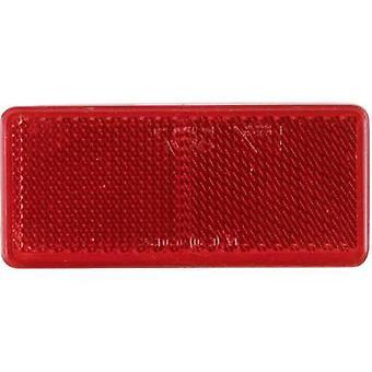 SecoRüt Reflector Rectangular Red (L x W) 90 mm x 44 mm