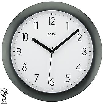 Radio controlled wall clock radio controlled wall clock wall clock radio black plastic housing