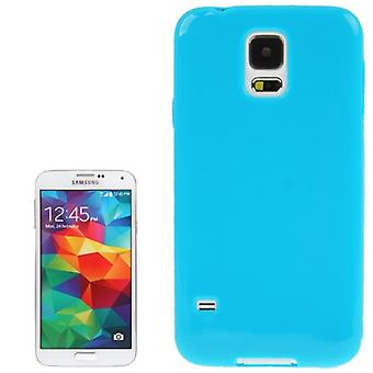 मोबाइल सैमसंग गैलेक्सी S5 के लिए सुरक्षात्मक मामले TPU मामला / S5 नव ब्लू