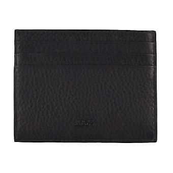 JOOP! Mannen credit card case kaart houder lederen draagtas zwart 4617