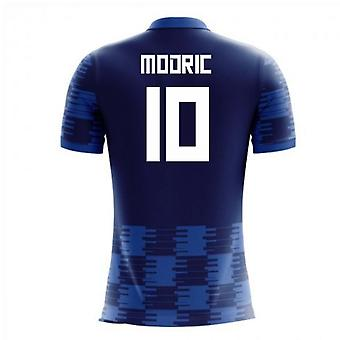 2018-19 Croatie Concept Away Shirt (Modric 10) - Kids