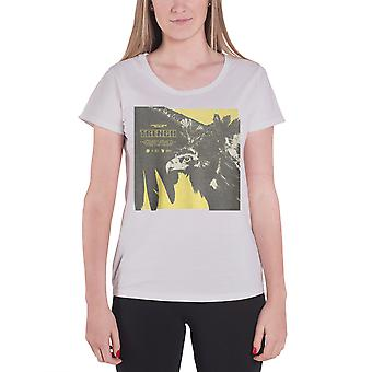 Twenty One Pilots T Shirt Trench Cover Square Logo Womens New Grey