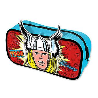 Marvel Retro Mäppchen Thor  multicolor, aus 100% Polyester, mit Reißverschluss.