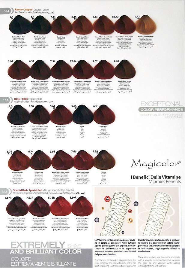 MagiColor Permanent Hair Color (4) Castano 100ml